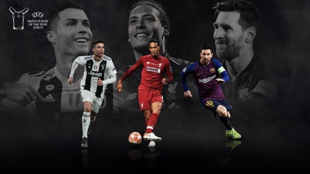 Van Dijk, Ronaldo, Messi to compete for UEFA  men's player of the year award