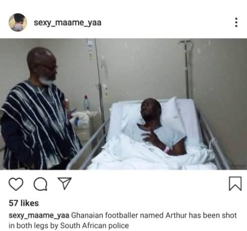 Arthur Ghanaian Footballer Xenophobia