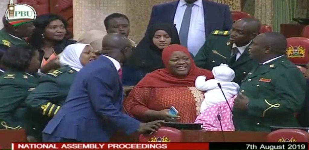 Zuleikha Juma of Kenya's National Assembly