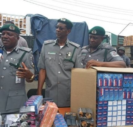 Tramadol worth N5 billion confiscated by Customs in Lagos