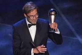 FIFA the Best 2019: Jurgen Klopp wins Best Manager