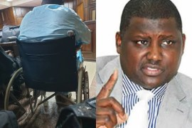 List of Politicians who have showed up to Trial in Wheelchair, Braces, others