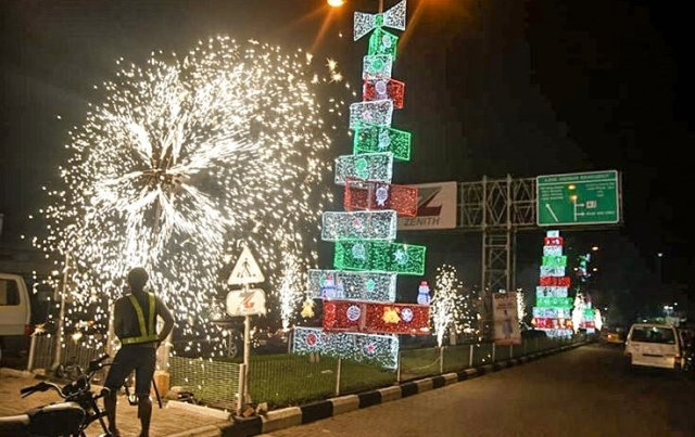 Best Moments From Zenith Bank's Past Christmas Light-Up (Photos)