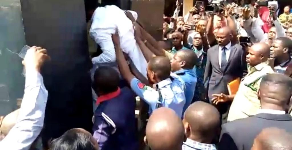 Sotitobire: Pastor Conveyed In Black Maria, Remanded Over Missing Child (VIDEO)