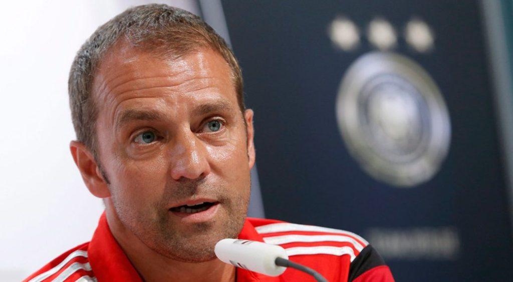 Bayern munich coach flick hansi