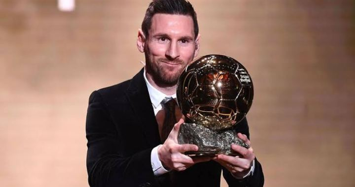 Messi wins big at the 2019 Ballon d'Or