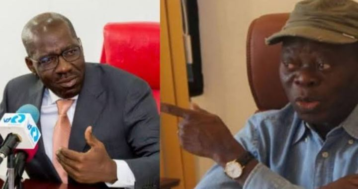 Stop depending on Thugs to win Elections - Obaseki lectures Oshiomhole