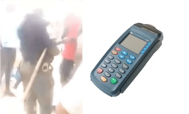 Policeman With POS, Demands ATM Cards of Commuters (VIDEO)