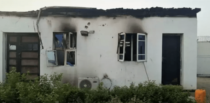 Boko Haram: UN Facility Attacked, Aid Workers' Quarters Set Ablaze (Photos)