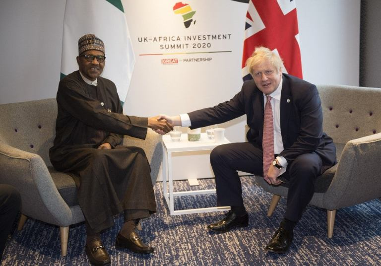 Buhari Asks United Kingdom To Hunt Down Nigerian Fugitives