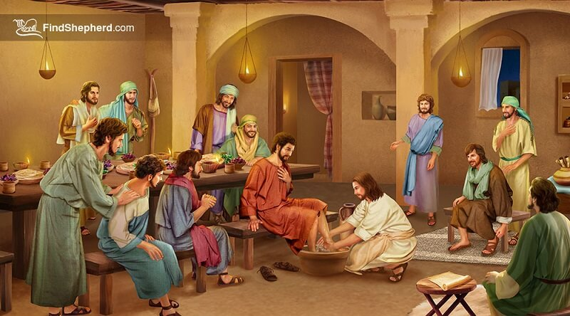 The-Lord-Jesus-washes-His-disciples'-feet_