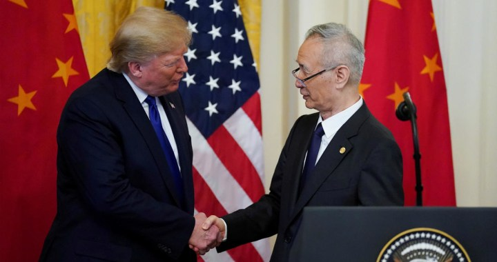 U.S China sign phase one deal