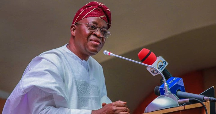 YOUTHS-Gov. Oyetola Lauds NGO