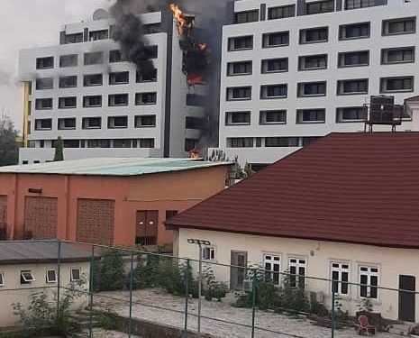 BREAKING: Fire engulfs office of Accountant-General
