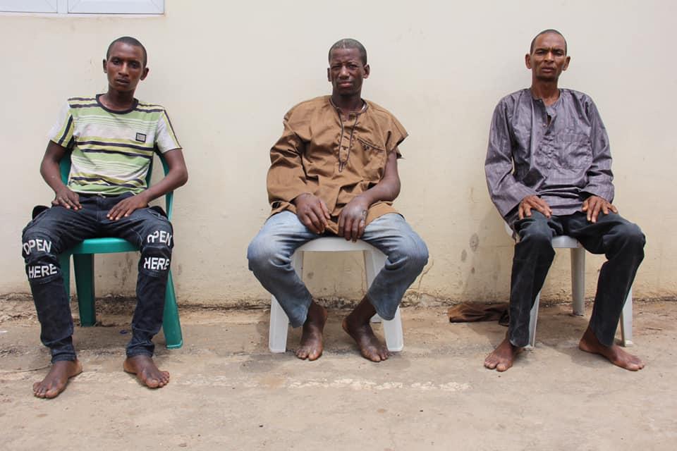 Kaduna gang arrested by police