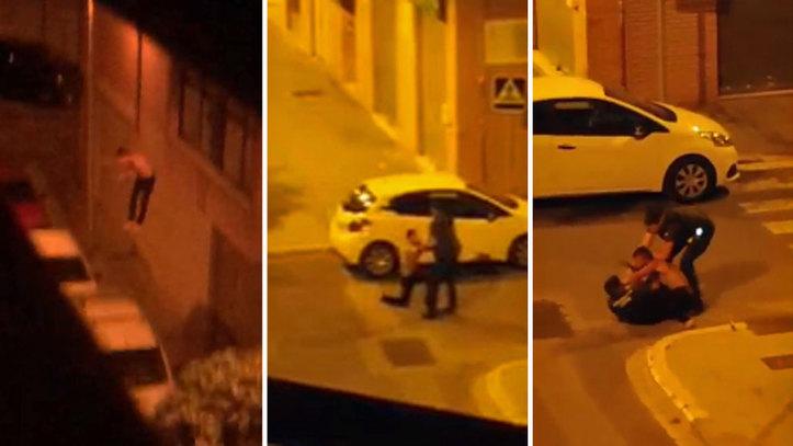 window jumper in Spain