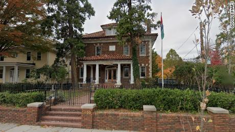 The Gambian Embassy as seen in Georgia