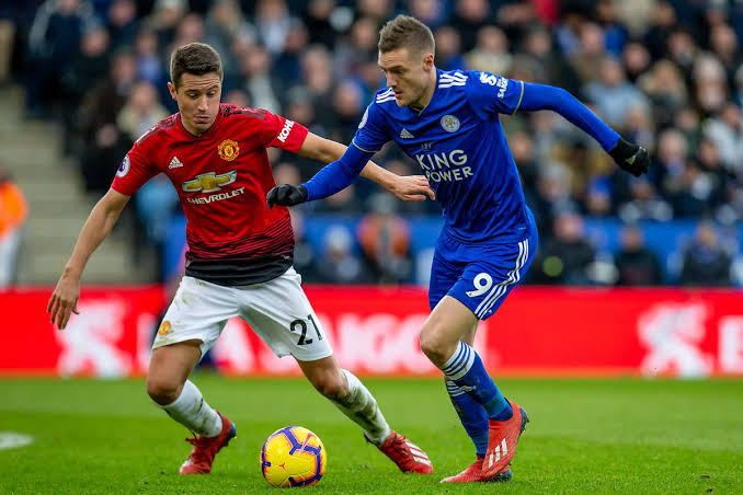 Manchester United Beat Leicester City 2-1 In 2018/2019