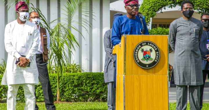 Lagos Governor, Babajide Sanwo-Olu