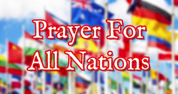 Daily Devotion: Prayers for your Nation