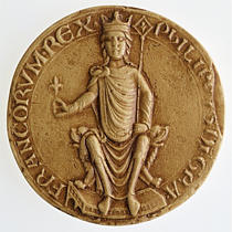 seal of Philip II, 1180