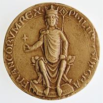 seal of Philip II, 1180