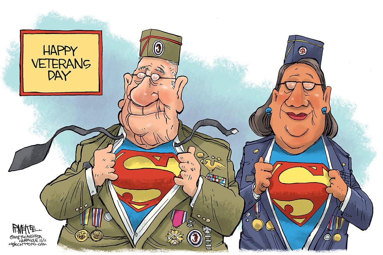 Editorial Cartoons For Sunday Nov 11 Veterans Day