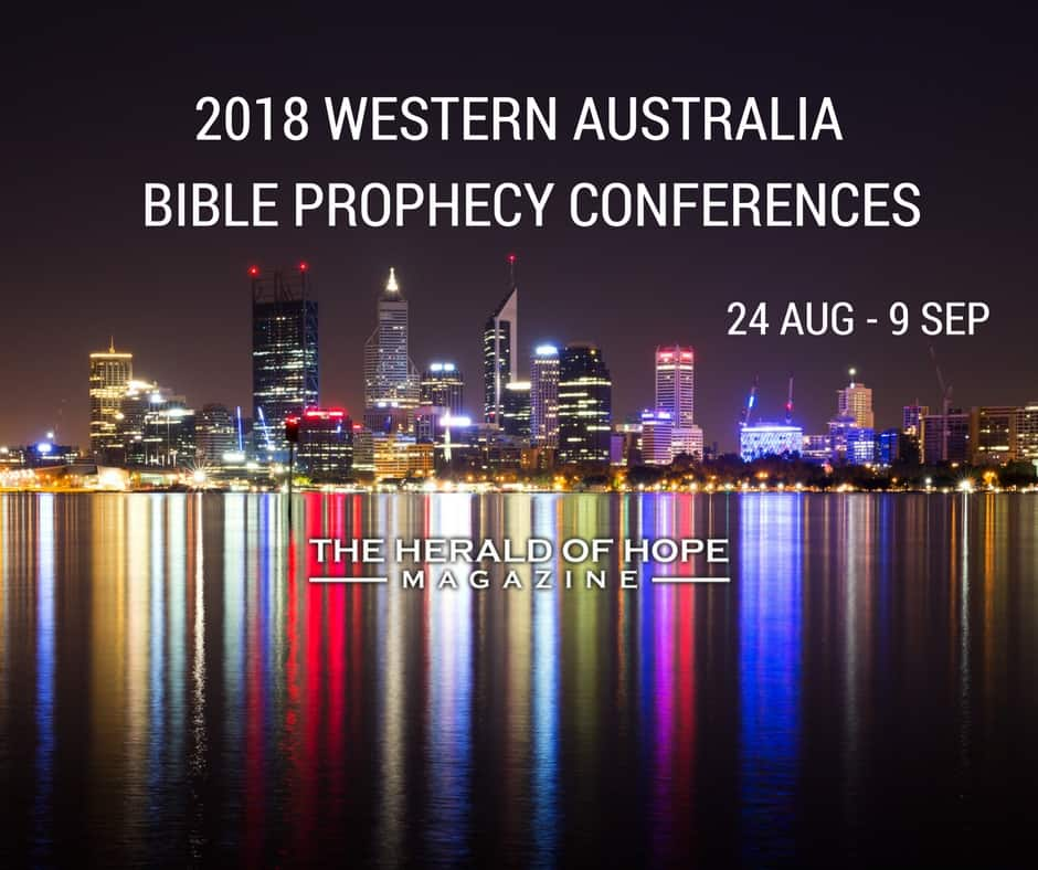 2018 Western Australia Bible Prophecy Conferences