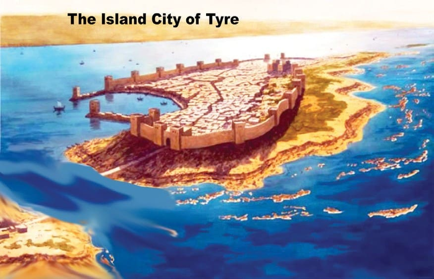 The Island city of Tyre