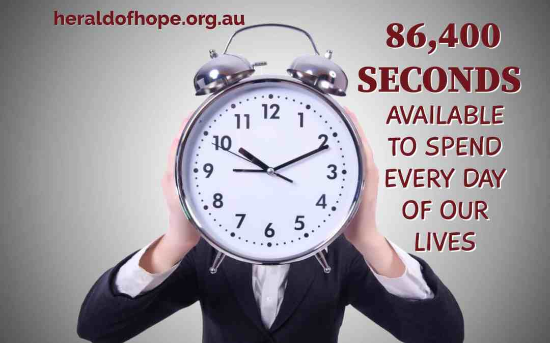 86400 Seconds by Vince Wall | Herald of Hope