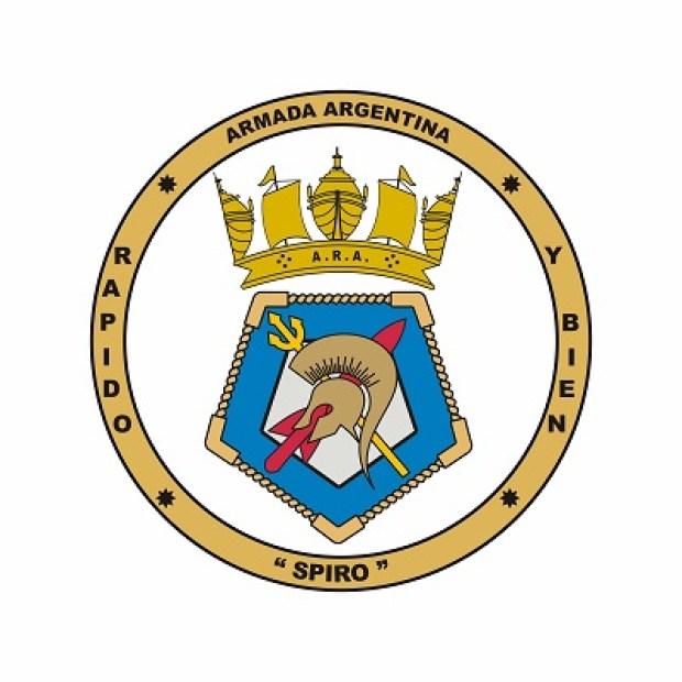 File:Corvette ARA Spiro (P-43), Argentine Navy.jpg - Heraldry of the World