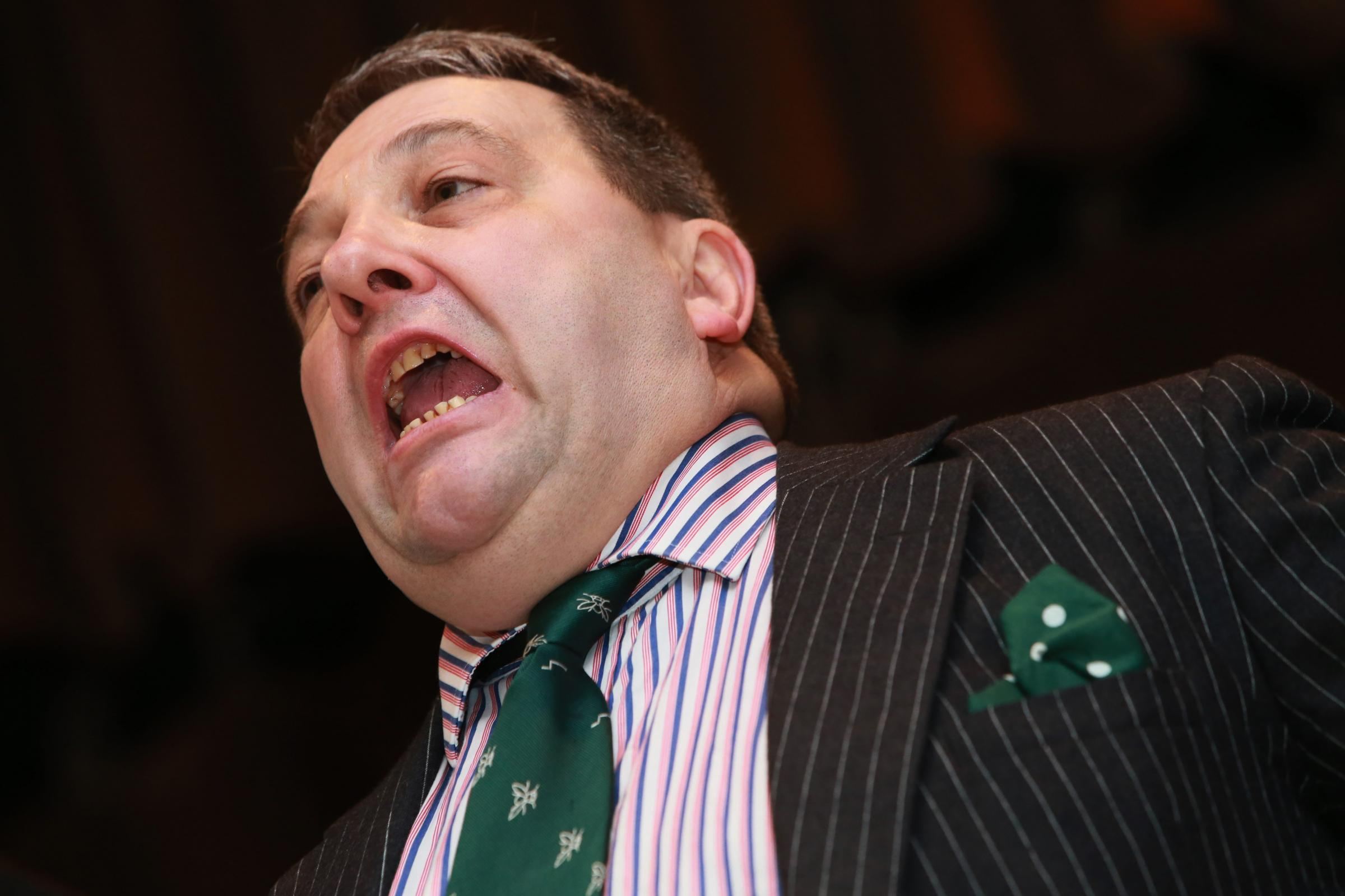 UKIP MEP and leader in Scotland David Coburn