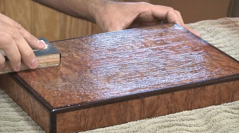 how to lacquer wood 2017