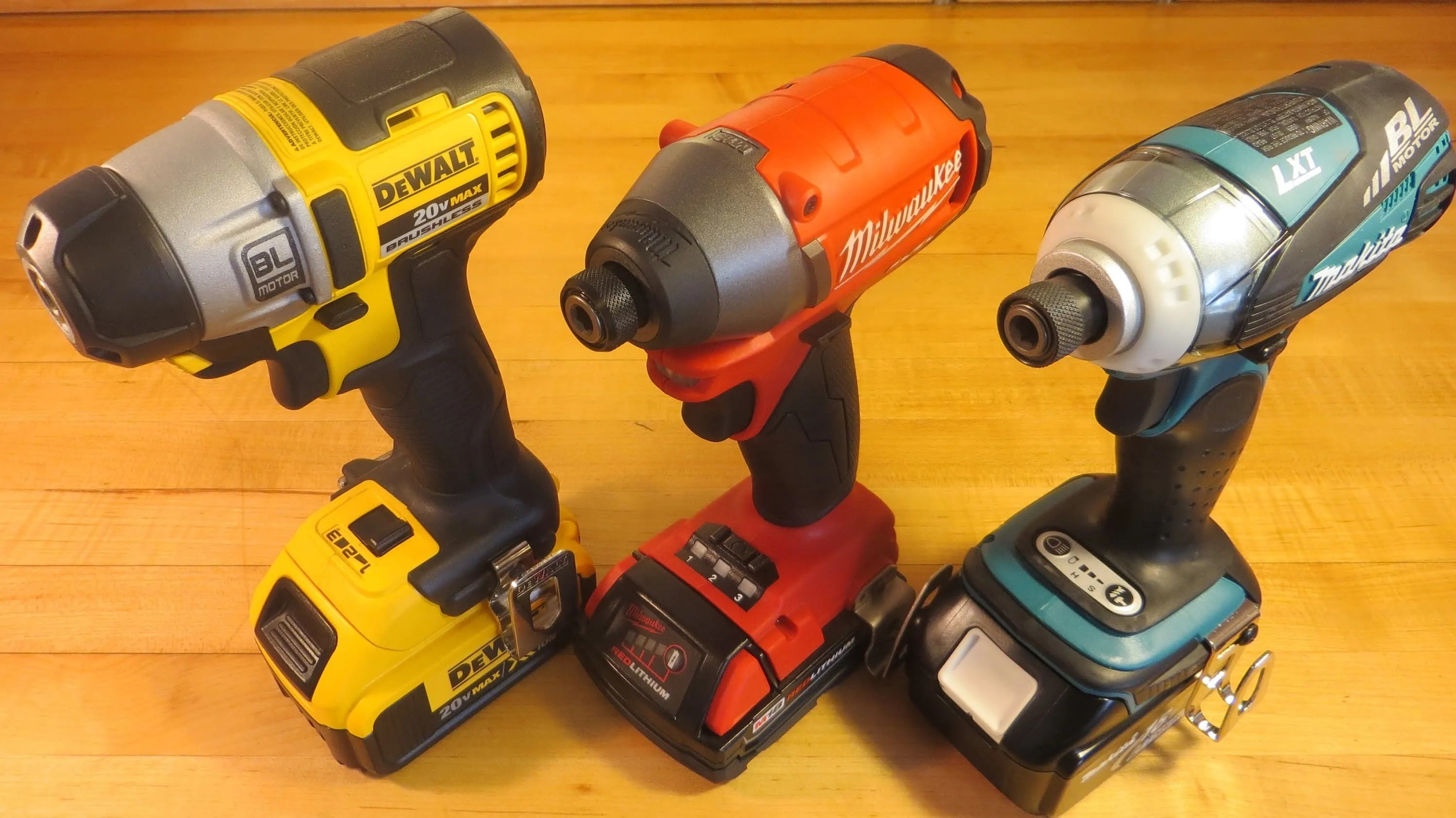 dewalt vs milwaukee vs makita