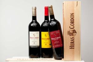 La comercialización vino Bodegas y viñedos Heras Cordón