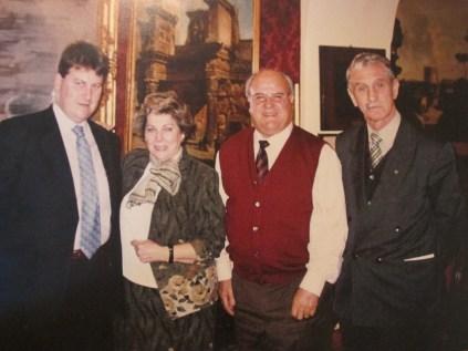 Dña. Paloma Gómez Borrero, D. Florencio Galiano, y D. Benigno Polo