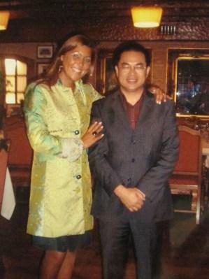 Nuestro gran colaborador Mr. Lin Cheng
