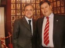 Junto a nuestro amigo D. Florentino Pérez