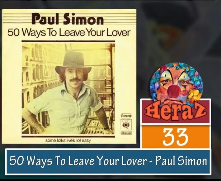 50 Ways To Leave Your Lover – Paul Simon (bass)