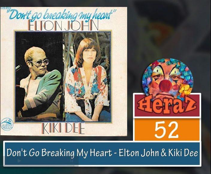 Don't Go Breaking My Heart – Elton John & Kiki Dee (bass)