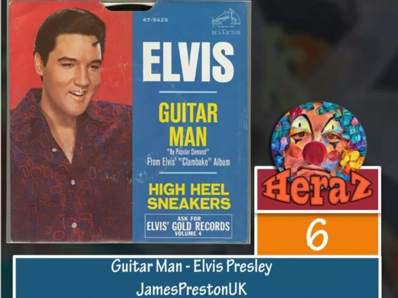 Guitar man – Elvis Presley (Bass)