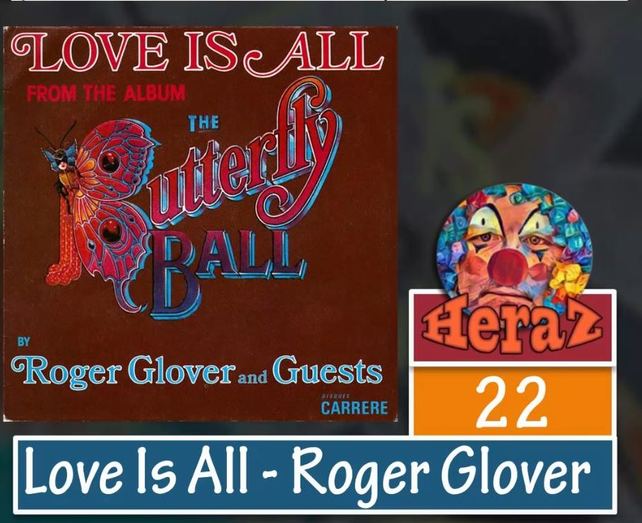 Love Is All – Roger Glover (bass)
