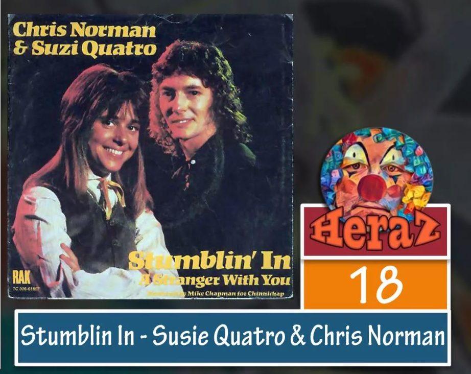 Stumblin In – Susie Quatro & Chris Norman (bass)