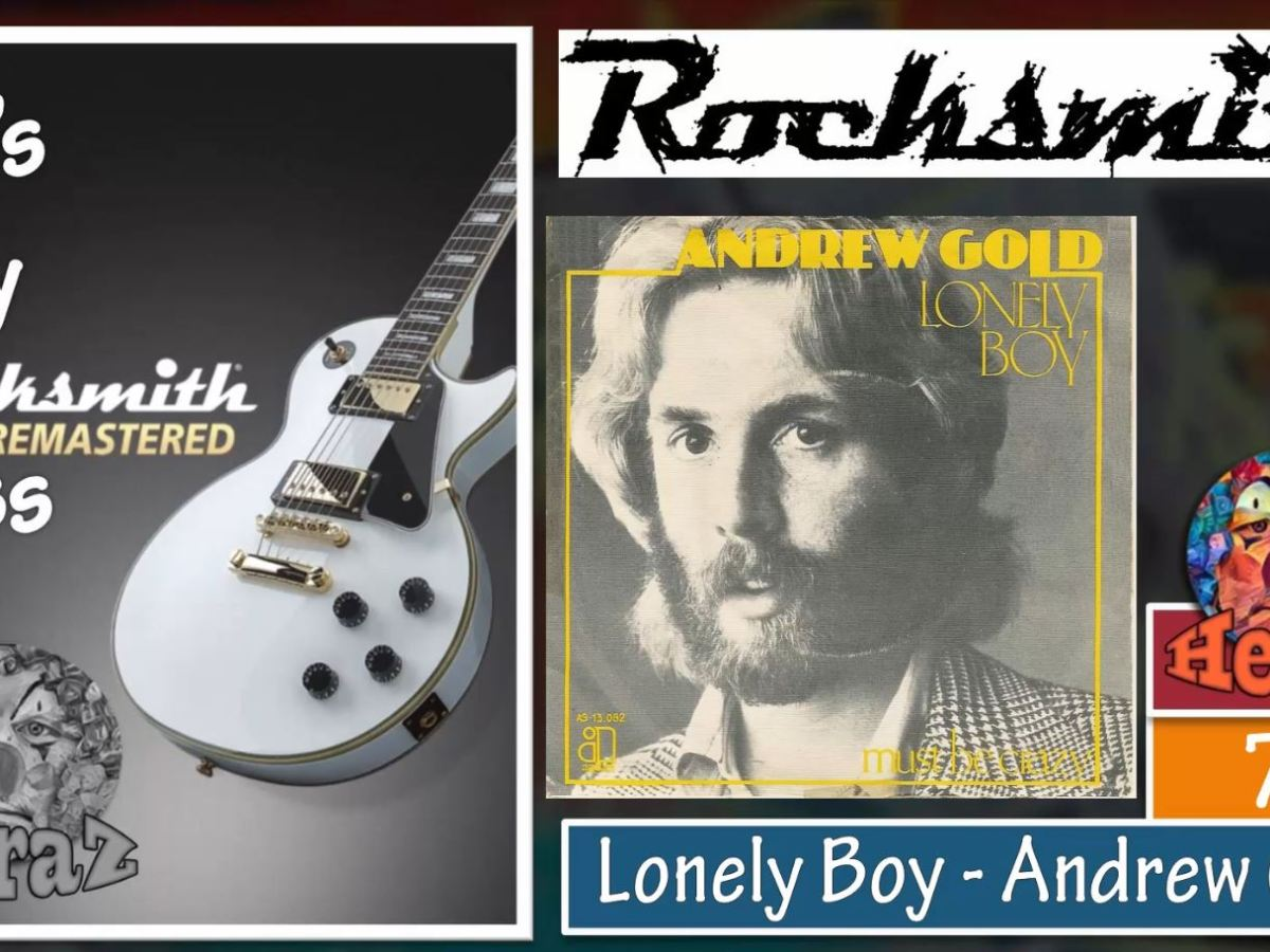 Lonely Boy – Andrew Gold (bass)
