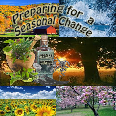 "Preparing for a seasonal change ""Top Anti-Biotic Herbs for Preppers"""
