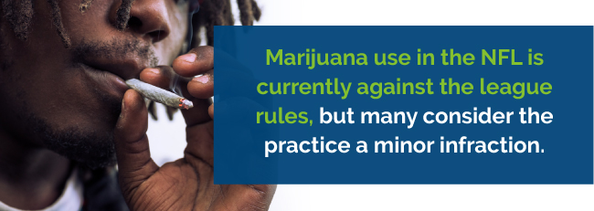 nfl marijuana illegal