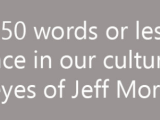 Blurb from Jeff Morosoff's Blog
