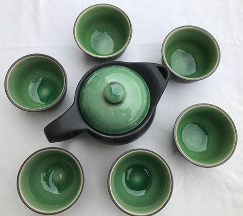 thés pots en porcelaine