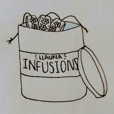 10 Bossetes d'infusions en Llauna