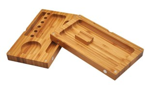 rolling tray small bamboo 1